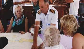 gulet crew captain