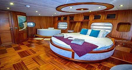 gulet yacht interiors